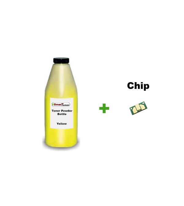 Konica Minolta 1710589-005 Refill Kit Yello (4 500 pages) for MagiColor  2400, 2430 , 2450, 2490, 2500, 2530 (Toner + Chip)